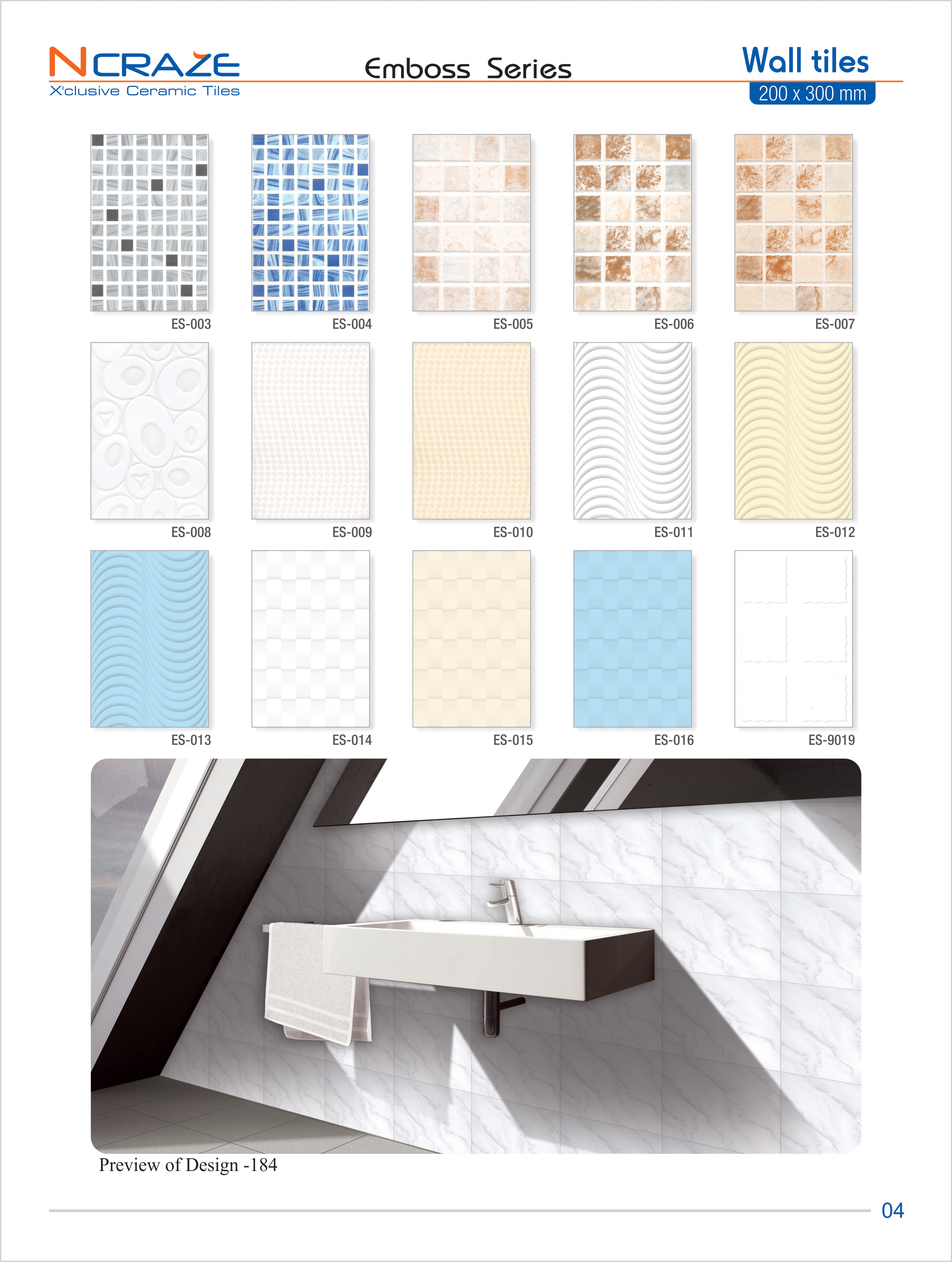 Low price cheapest wall tiles | Ncraze ceramic tiles- India