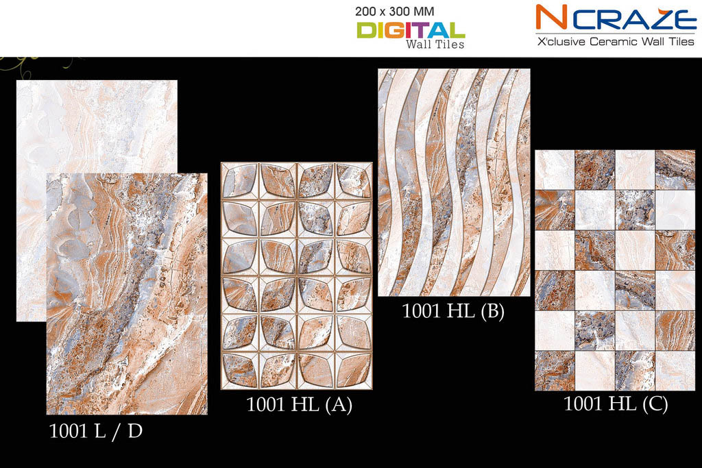 Digital Ceramic wall tiles | Ncraze ceramic tiles- India